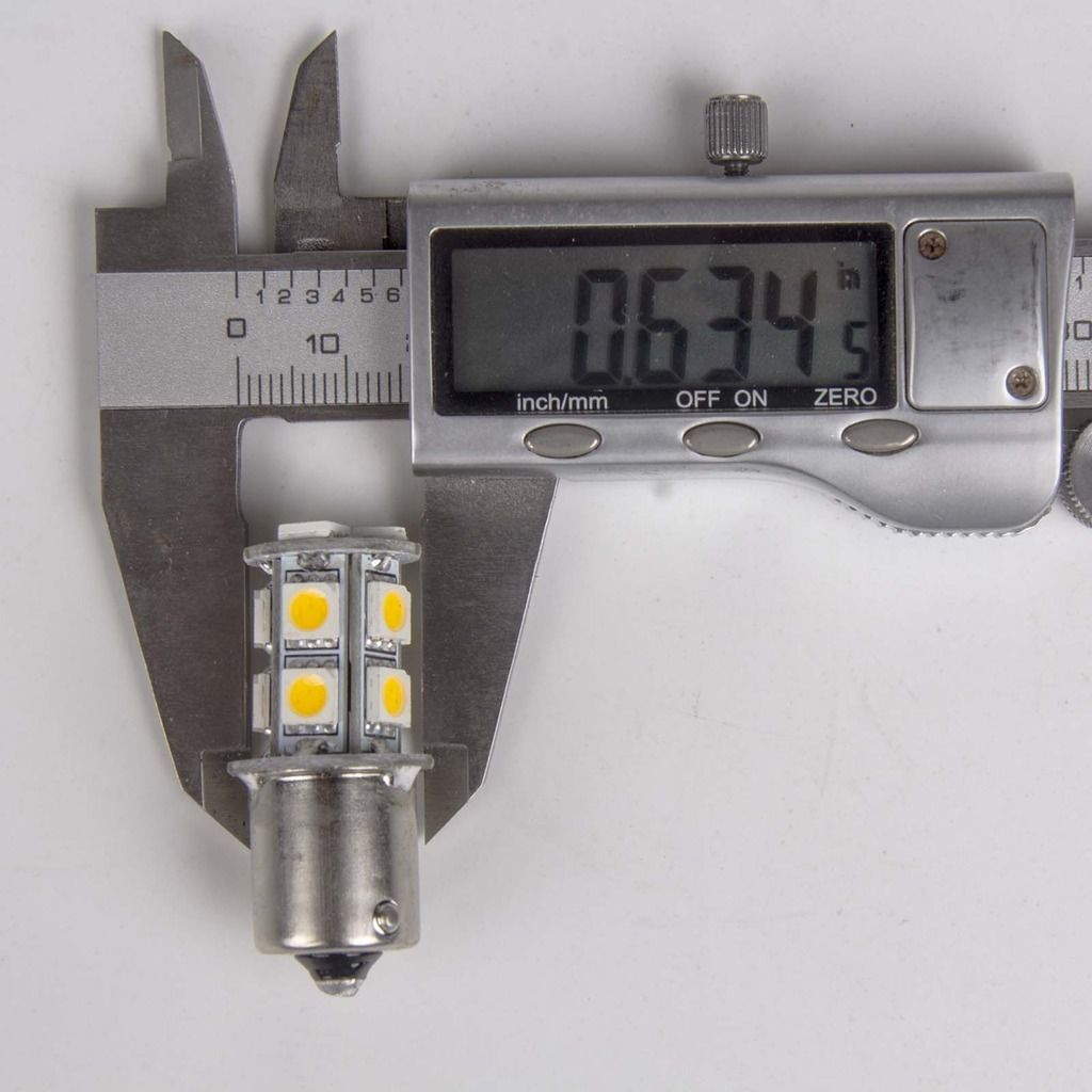 20 X Warm White 1156 Rv Camper Trailer 13 Smd Led 1141 1003 Interior Light Bulb Ebay