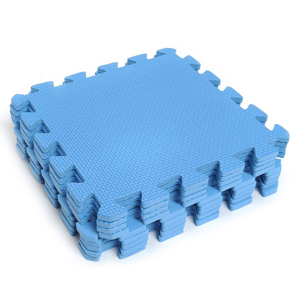 9pcs eco soft foam tile interlocking eva floor kids play
