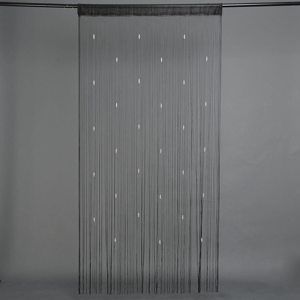 3 colors string curtain fringe for door fly screen beaded. Black Bedroom Furniture Sets. Home Design Ideas