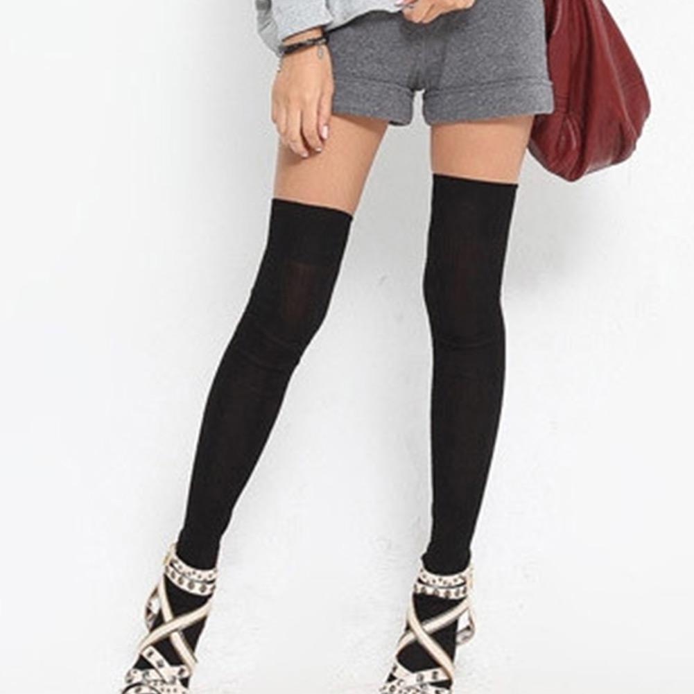 25 Sexy Women Wearing Knee High Long Socks - Stylishwife