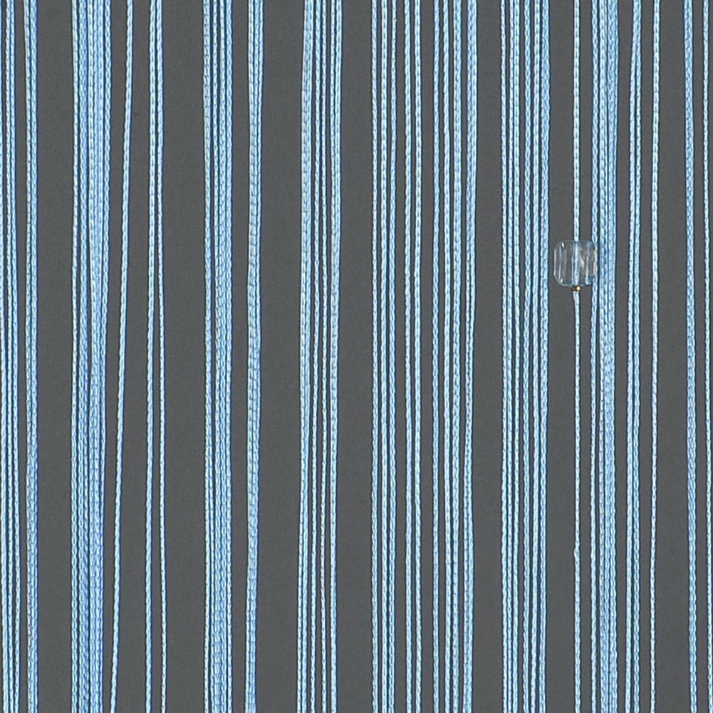 Teal curtain beads - Beaded String Curtain Door Divider Crystal Beads Tassel