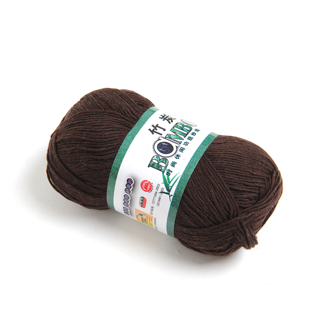 1/2/5/10pcs Knitting Yarn Natural Soft Bamboo Cotton Skein Baby Yarn 50g New