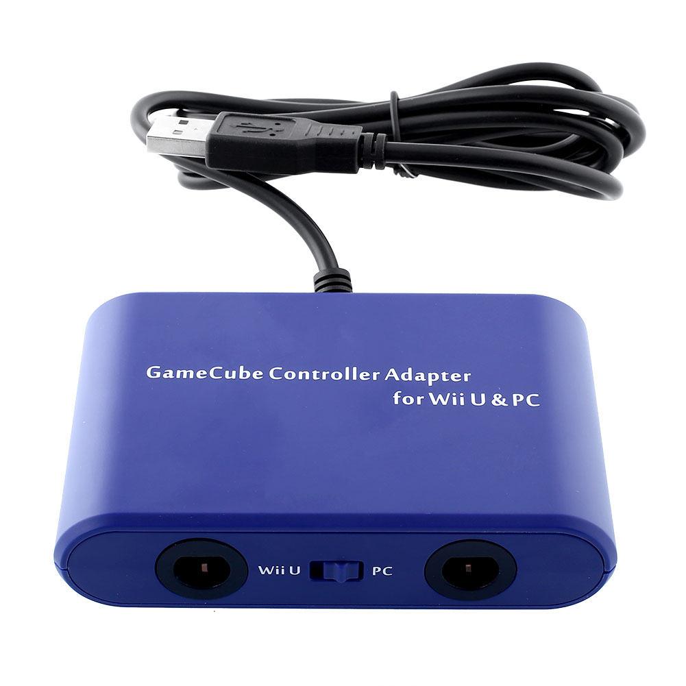 Mayflash 2 Port Gamecube Controller To PC Mac Adapter For