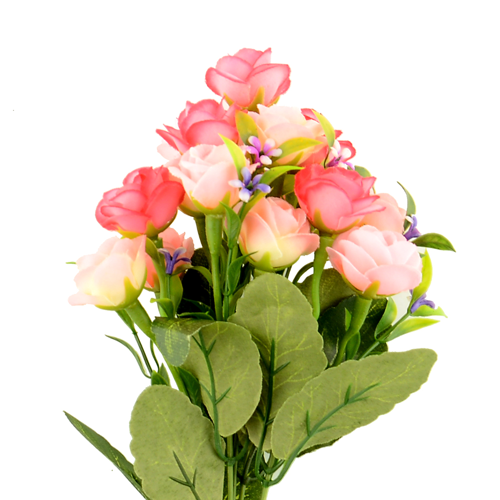 1bouquet Artificial Rose Silk Flower Floral Wedding Flower Arrangement Diy Ebay