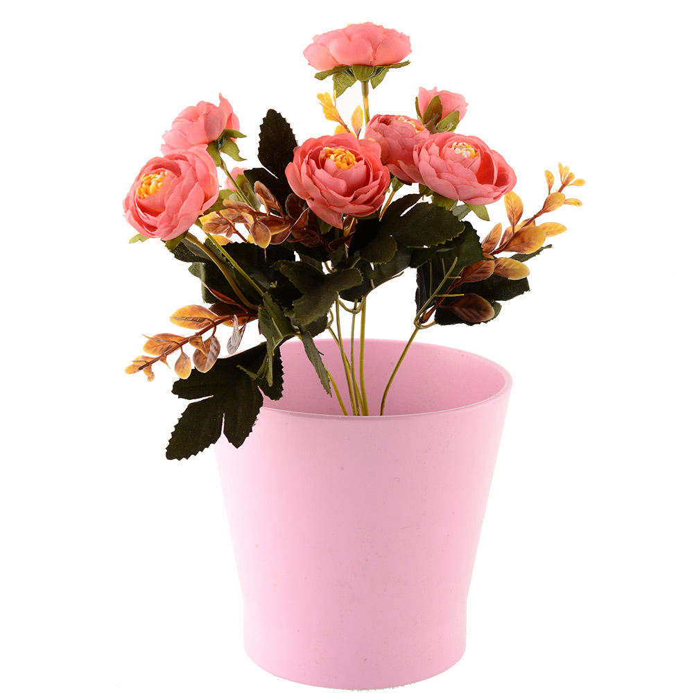 6 branches autumn artificial fake peony flower arrangement for Floral arrangements with branches