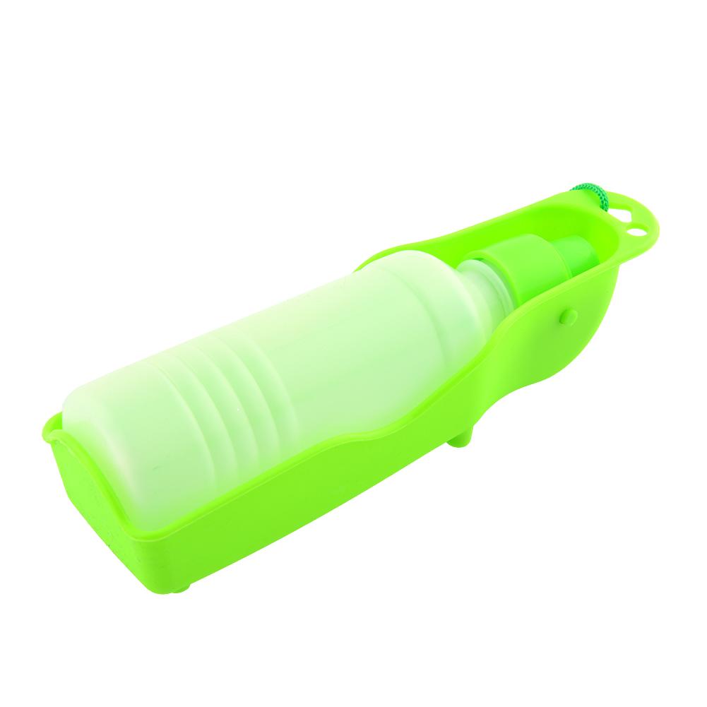 Plastic Pet Travel Water Drinking Bottle Portable Pet Dog