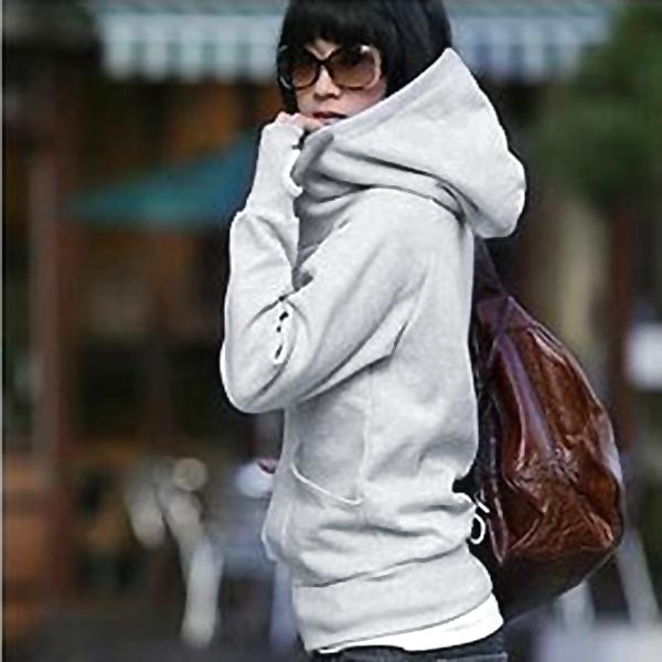 Women Long Sleeve Hoodie Sweater Thin Zipper Coat Sweatshirt Tops Blouses