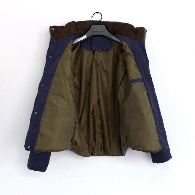 Fashion Slim Men Casual Padded Coat Fit Jacket Overcoat Outwear M/L/XL