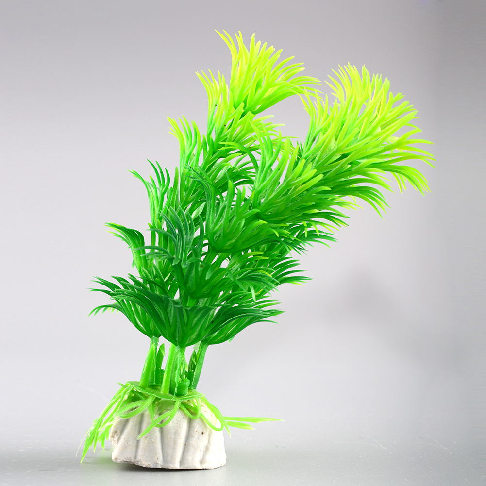 Hot lovely artificial water plants for fish tank aquarium for Artificial pond plants sale