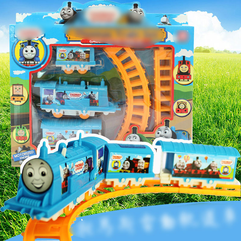 How does electric toy train work sydney