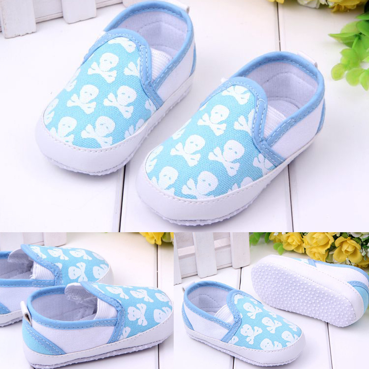 New Infant Toddler Boy Girl Soft Crib Anti-slip Confortable Sneaker Overshoes