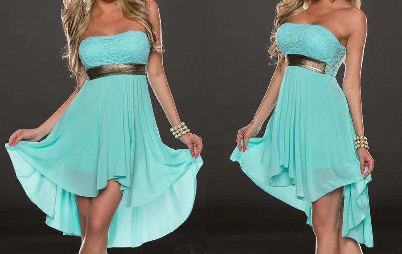 New Women Lace Skirt Irregular Sexy Chiffon Clubwear Party Mini Dress