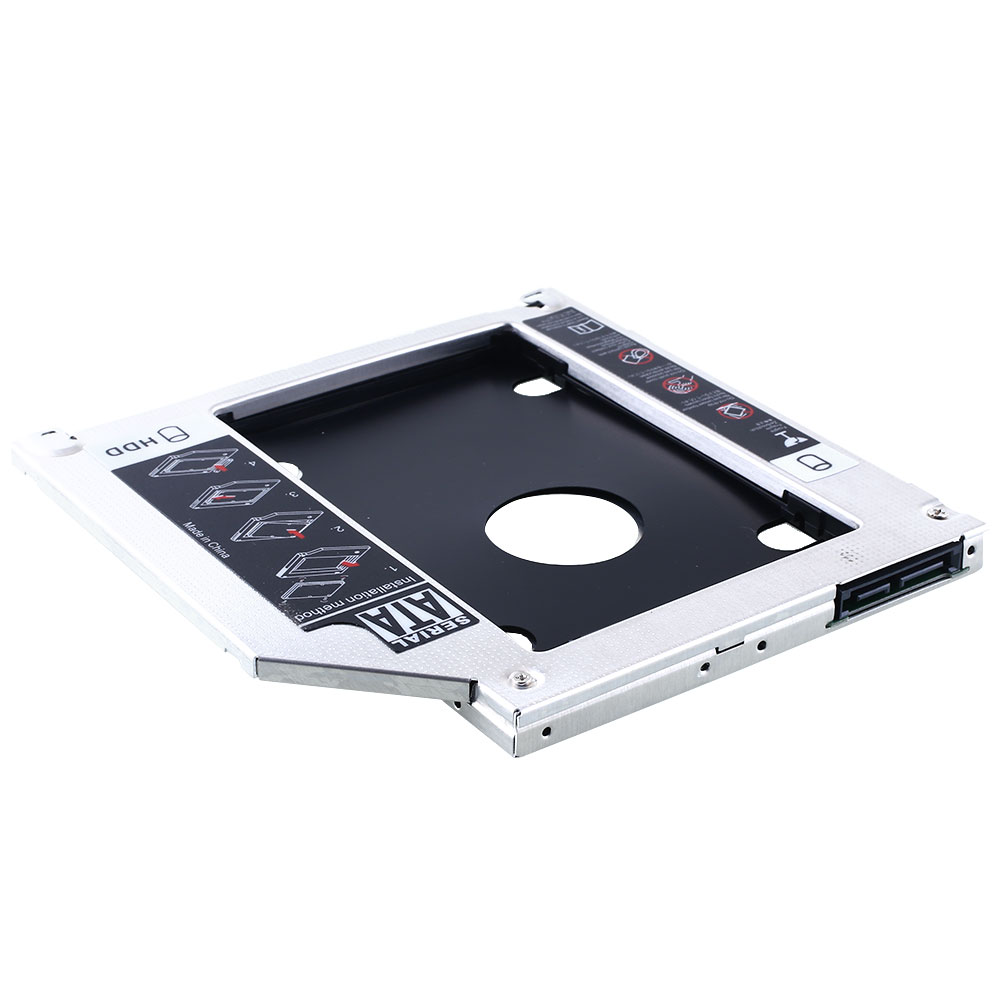 hard disk drive mounting bracket caddy for apple macbook pro imac 7mm sata3 ebay. Black Bedroom Furniture Sets. Home Design Ideas