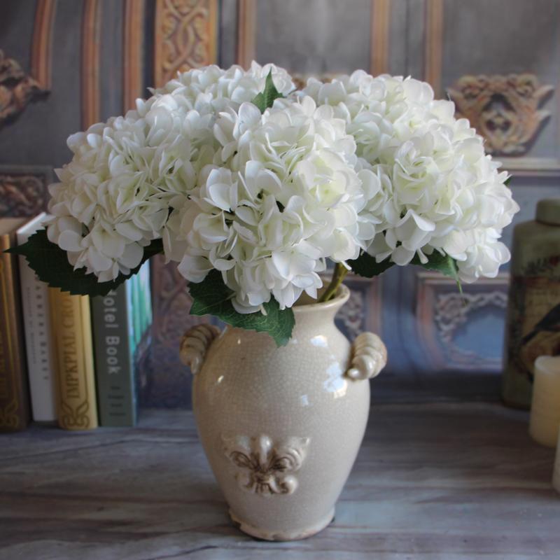 Rose bouquet artificial silk peony flower arrangement