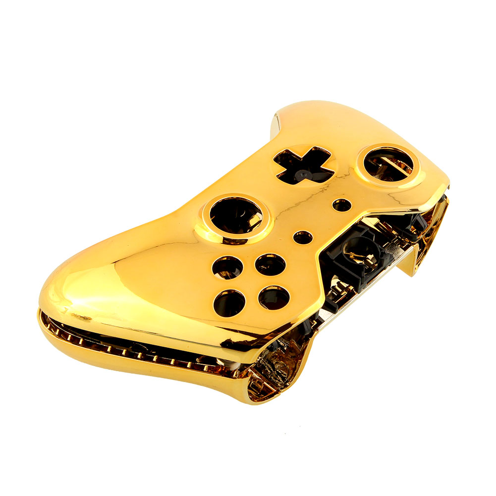 New Wireless Controller Shell +Button Chrome Gold For ...