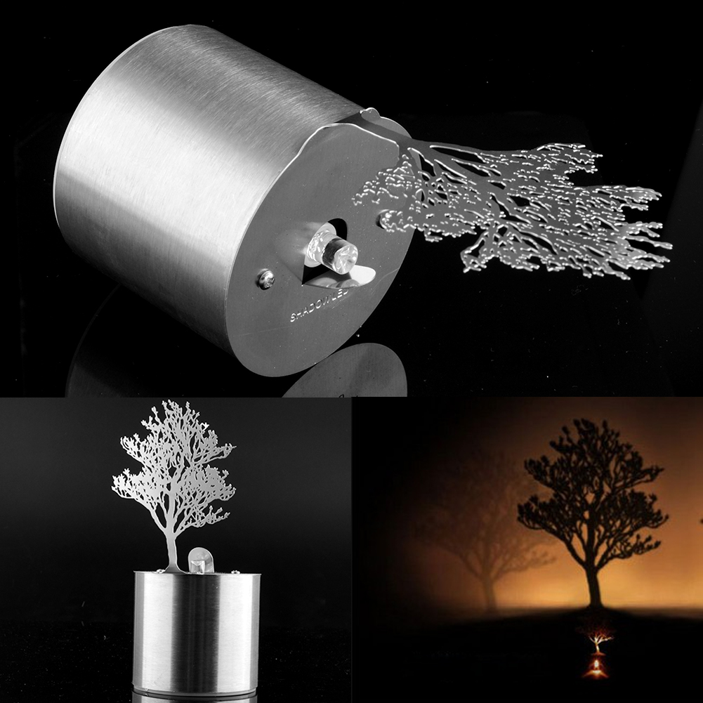 Romantic Dreamlike Led Shadow Projector Candle Timed Night