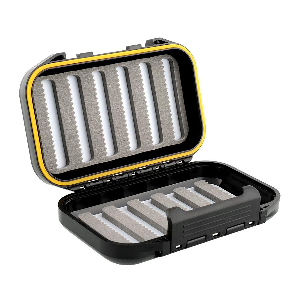 Fly fishing fish hook storage case box tackle kits for Fishing hook storage