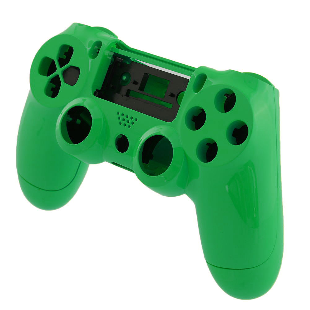 Hot Wireless Controller Shell Green +Button For Sony ...