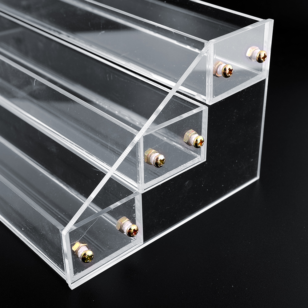 Exhibition Stand Organizer : Tier acrylic display stand large rack organizer nail