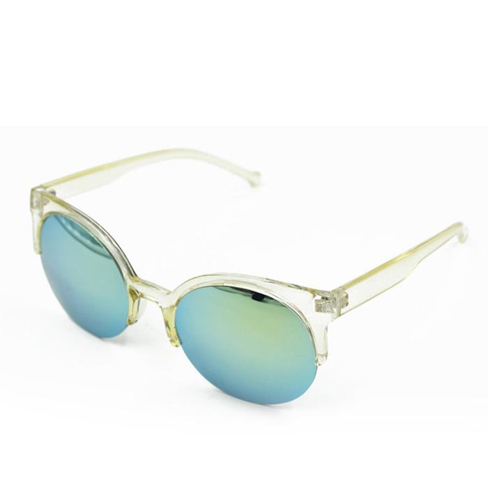 Half Frame Retro Glasses : Fashion Retro Women Lady Half Frame Cats Eye Sunglasses ...