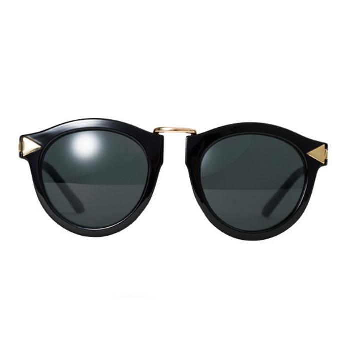Vintage Women Arrow Style Metal Frame Round Sunglasses Eyewear Shades Glasses