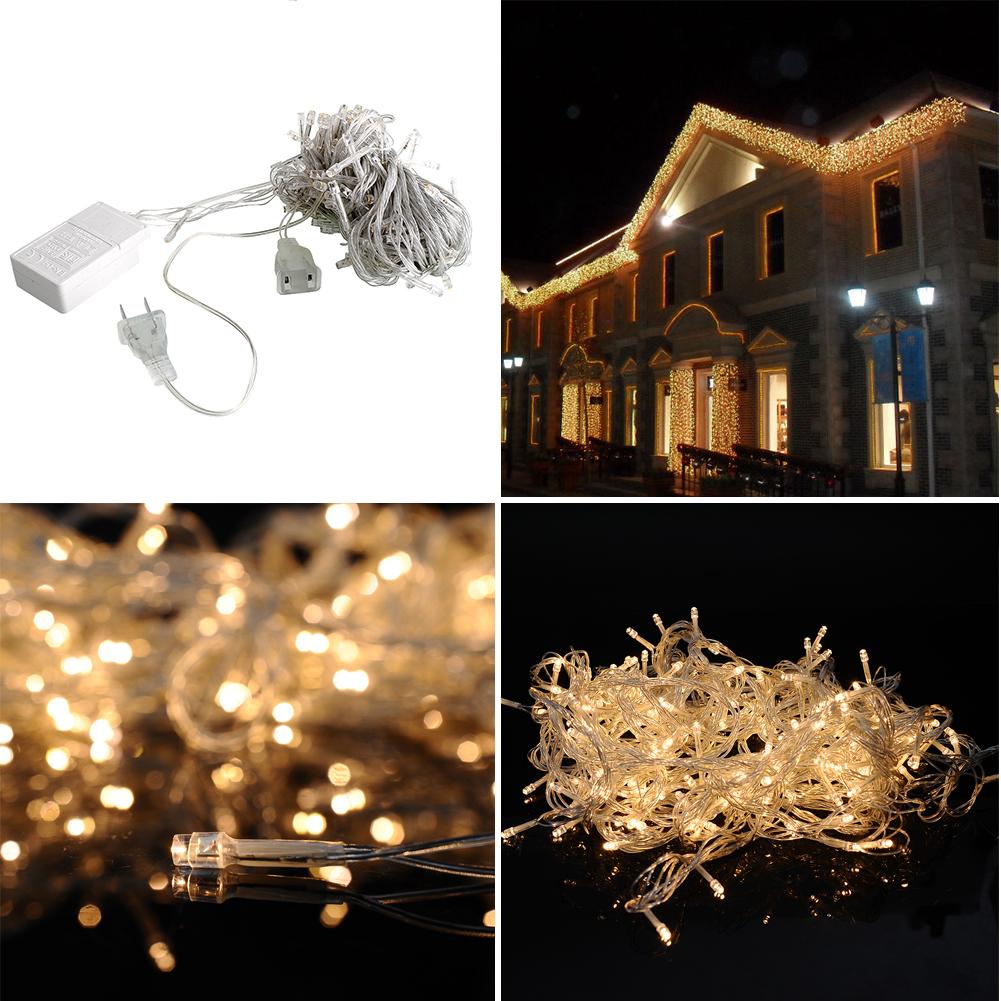 10m 100 led charming string light decor