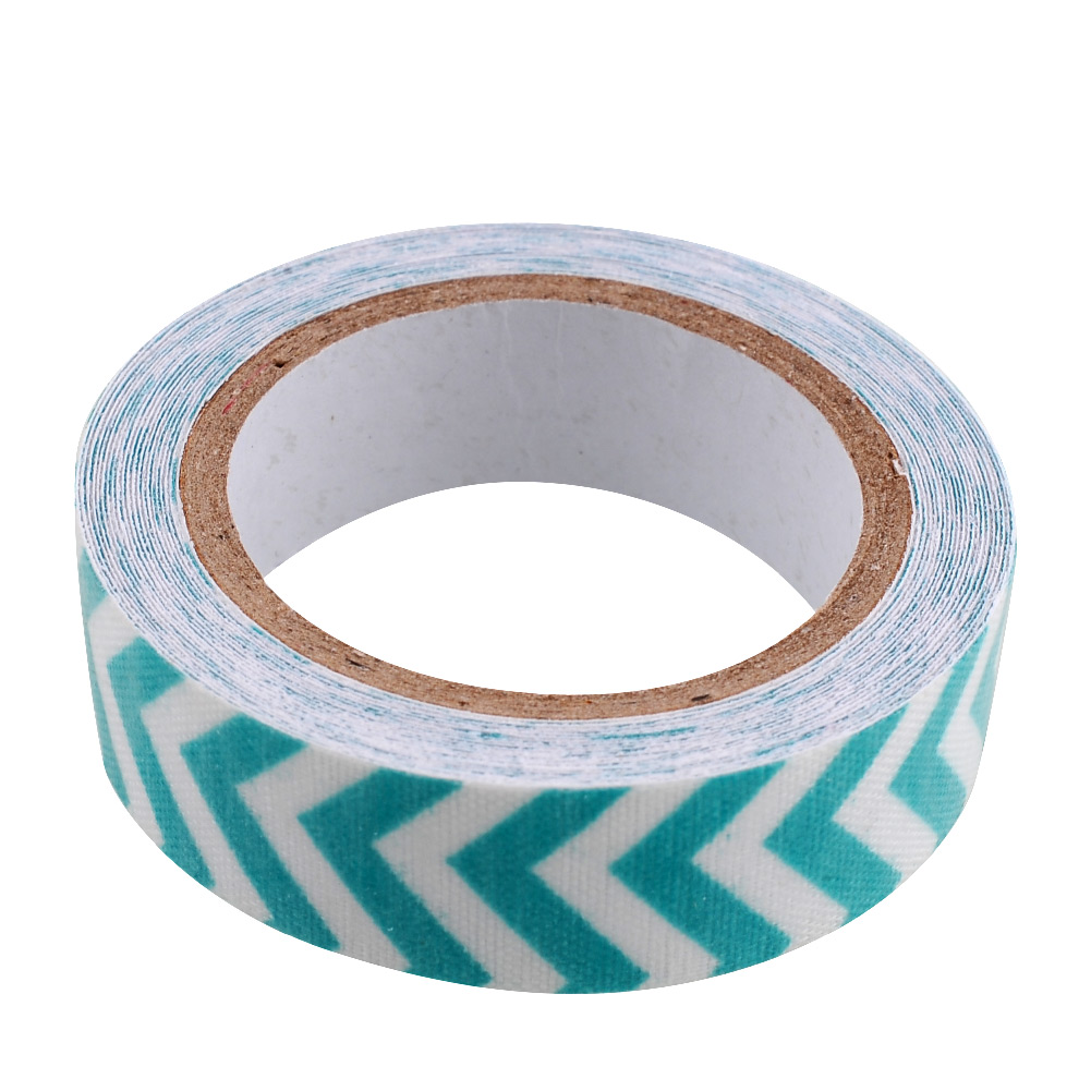 Stripe Rolls Tape 15mm Roll Adhesive Gift Scrapbooking Glue Tape Paper Stickers