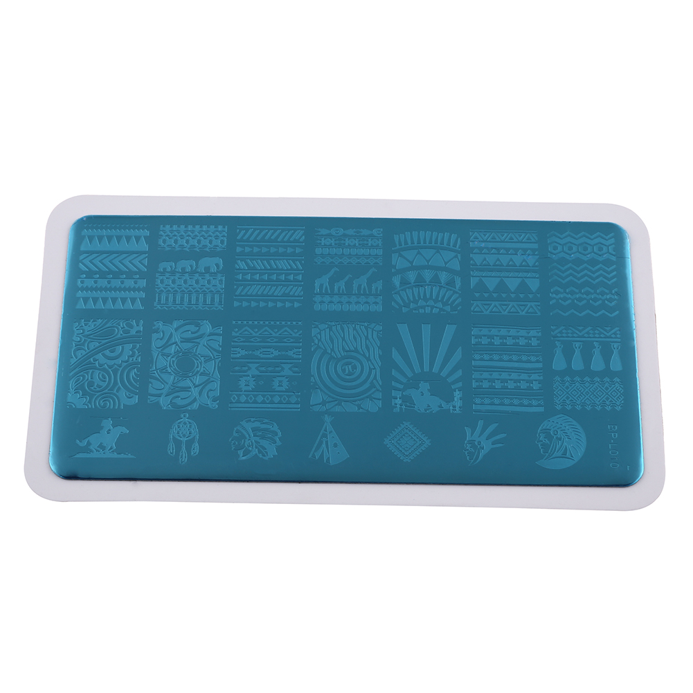 New Nail Art Stamping Stamp Image Template Stencil Plates Manicure DIY