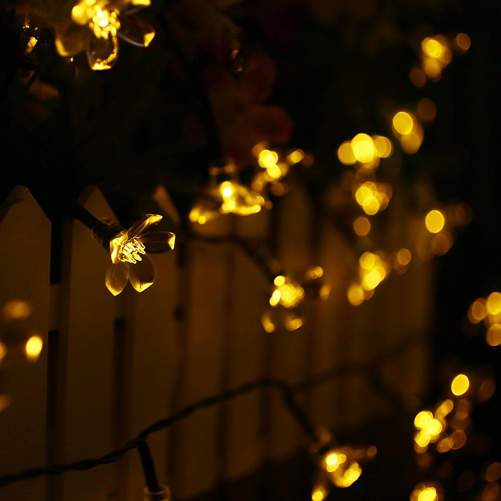Solar Powered Led Christmas Lights