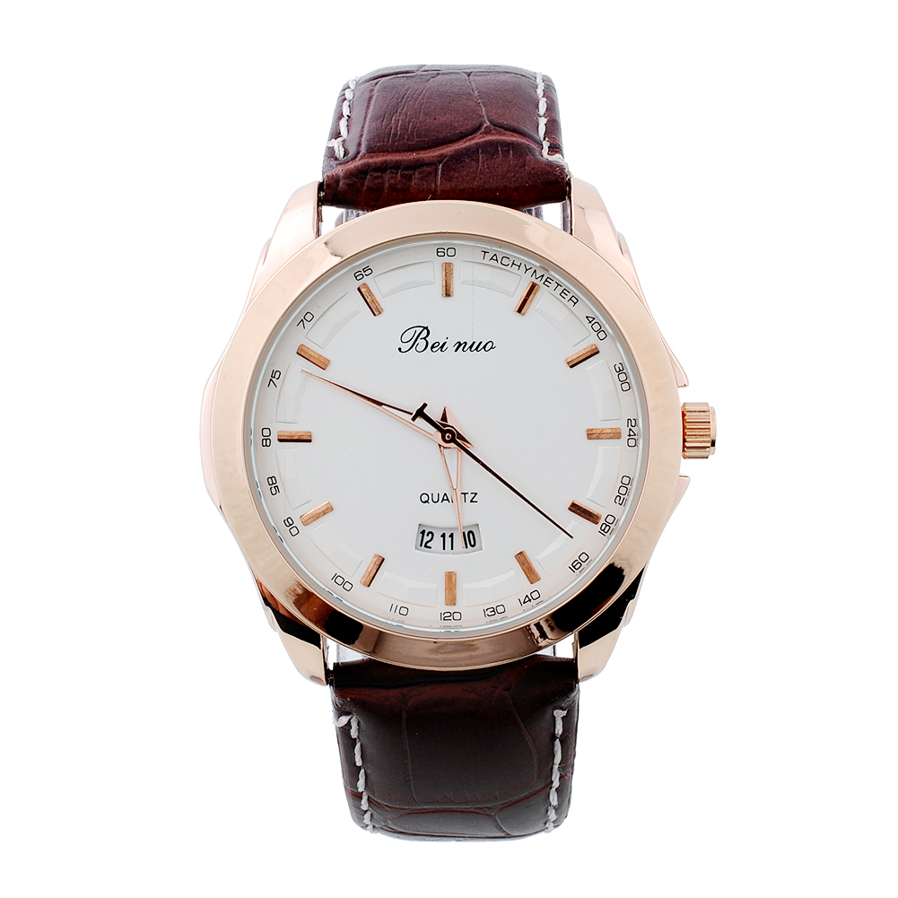 Geneva women 39 s men fashion stainless strap leather quartz wrist style watches ebay for Watches geneva