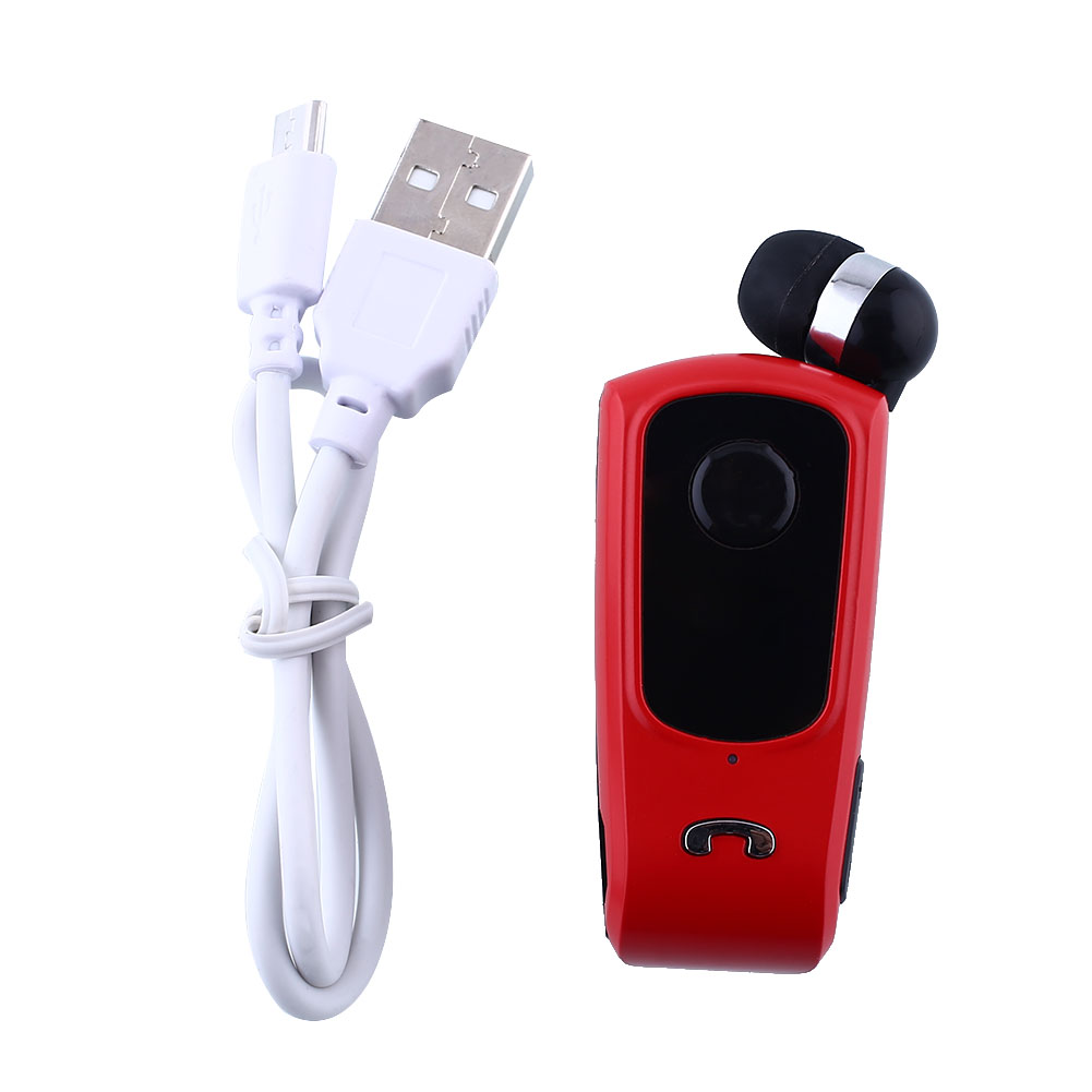 Retractable bluetooth headphones red - bluetooth headphones retractable red