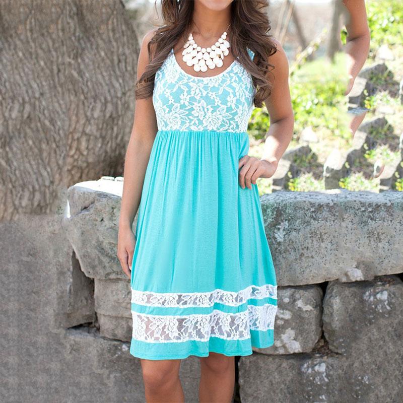 Women-Summer-Sexy-Sleeveless-O-Neck-Lace-Cocktail-Evening-Mini-Sundress-Dresses
