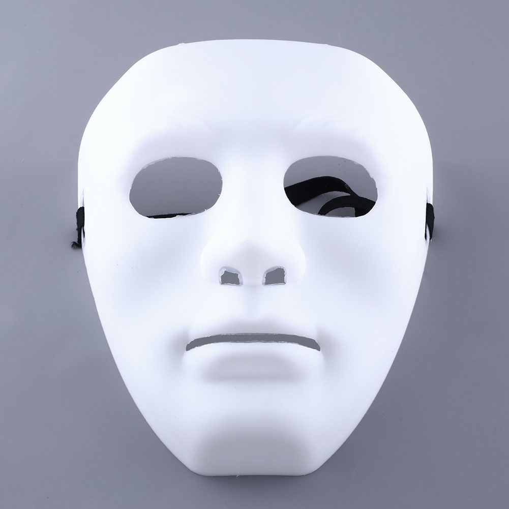 Scary Face Halloween Masquerade DIY Party Cosplay Costume Dressing ...
