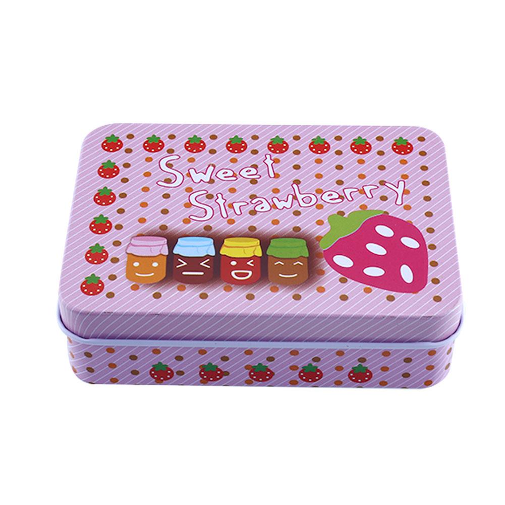 Mini-Empty-Tinplate-Tin-Metal-Container-Small-Rectangle-Storage-Box-3Pattern