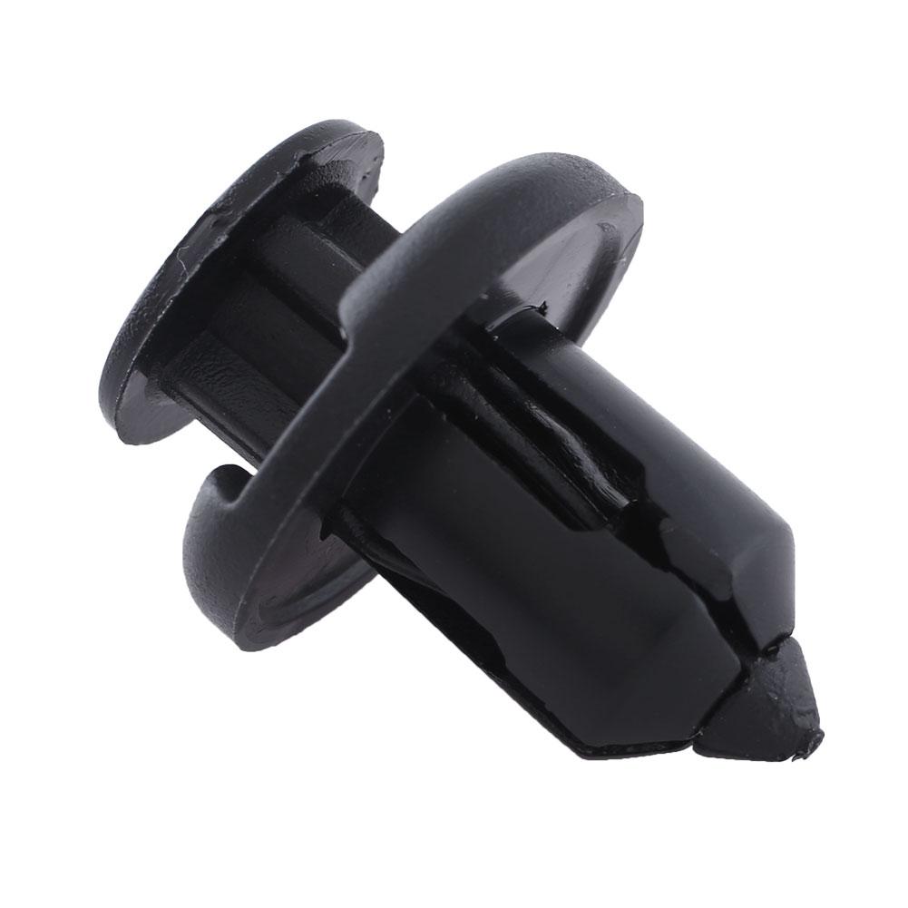 100pcs plastic rivets clips auto car fender interior panel for honda acura audi. Black Bedroom Furniture Sets. Home Design Ideas