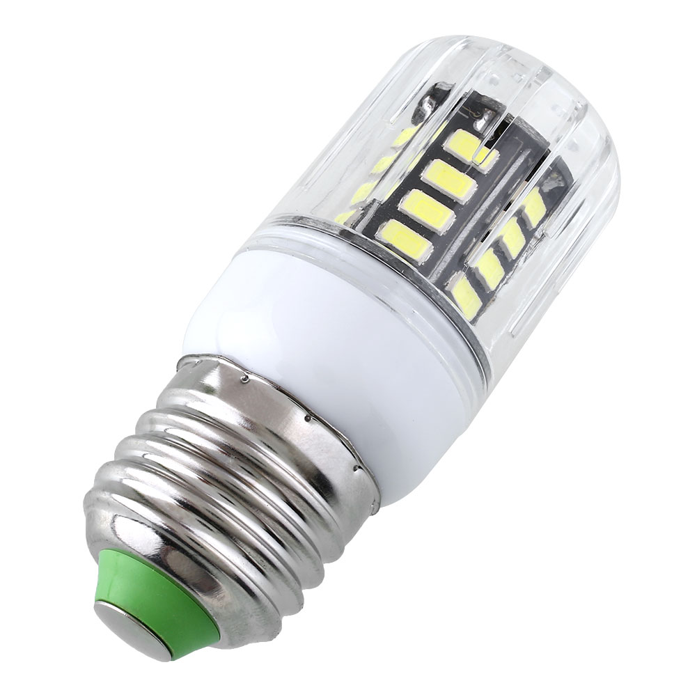 e27 110v 10w 30 led 5733smd cover corn light lamp warm pure white bulb home ebay. Black Bedroom Furniture Sets. Home Design Ideas