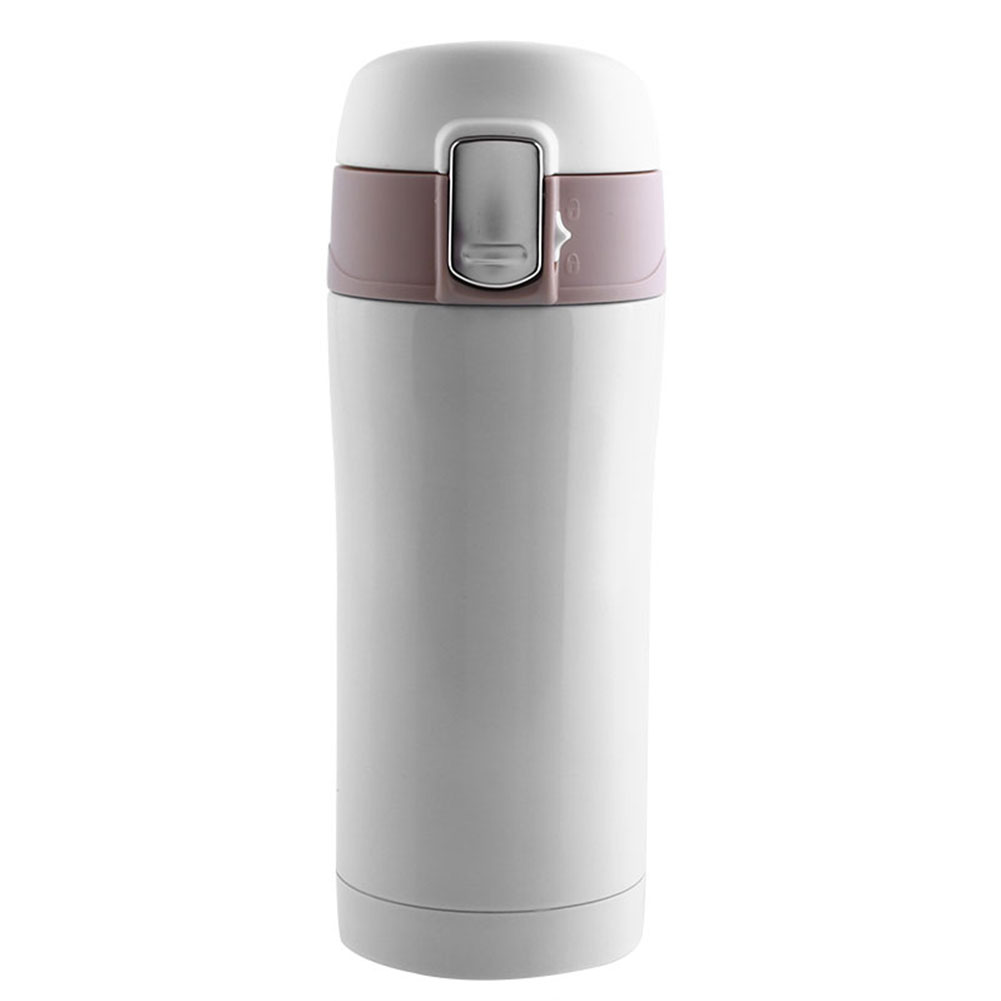 350ml travel mug tea coffee water bottle stainless steel thermos cup 4color ebay. Black Bedroom Furniture Sets. Home Design Ideas