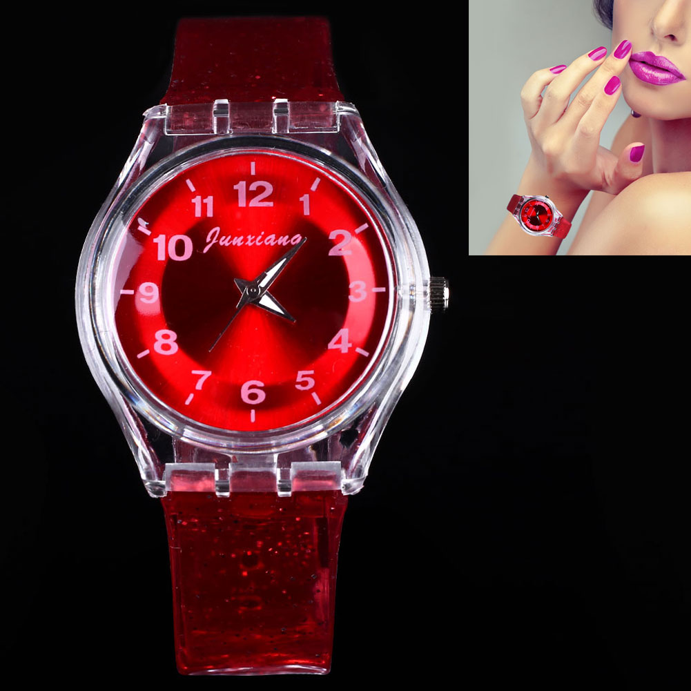 Sweet-Girls-Zipper-Plastic-Jelly-Wrist-Watch-Analog-Sport-Watches-Red-Blue