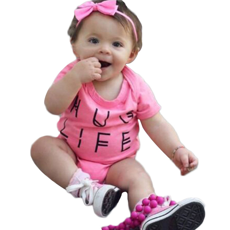 Baby-Girls-One-piece-Children-Cute-Letter-Printed-Romper-Jumpsuit-Playsuit