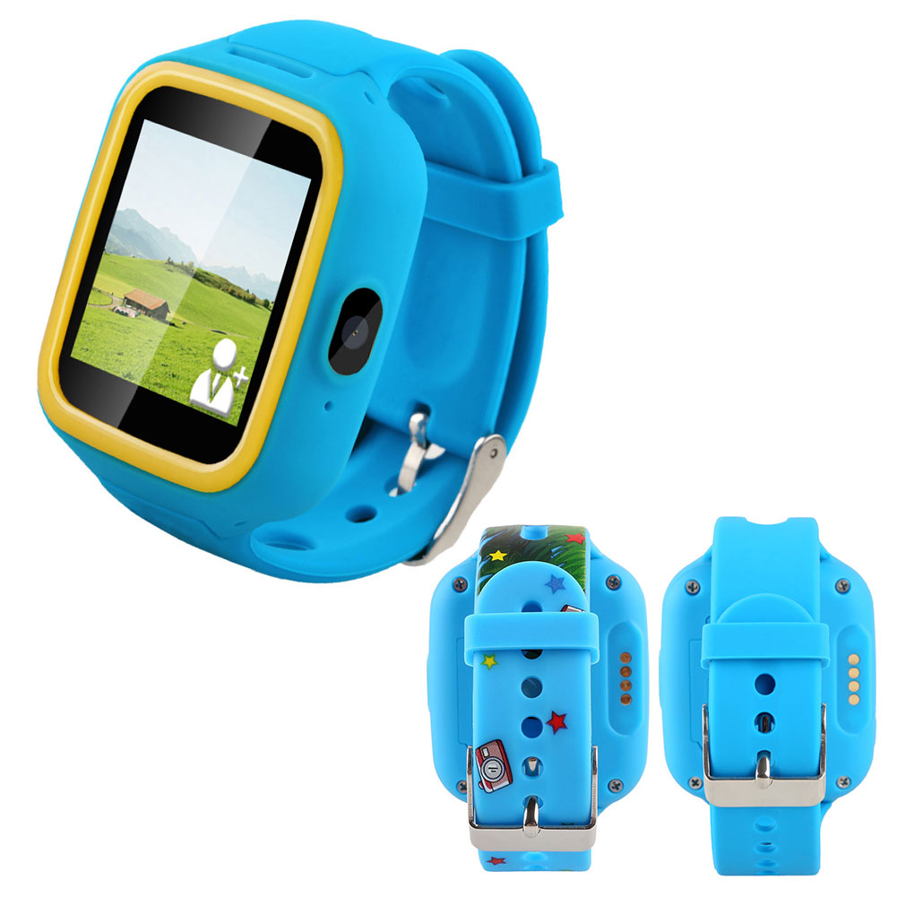 GPS Tracker Anti Lost SOS Call Children Kids Smart Watch ...