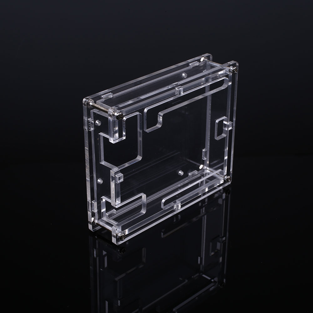 Transparent acrylic case shell enclosure computer box for