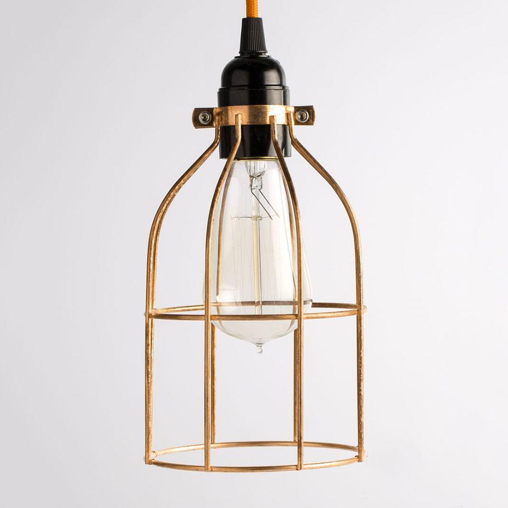 Lighting Metal Guard For String Light Lamp Holder