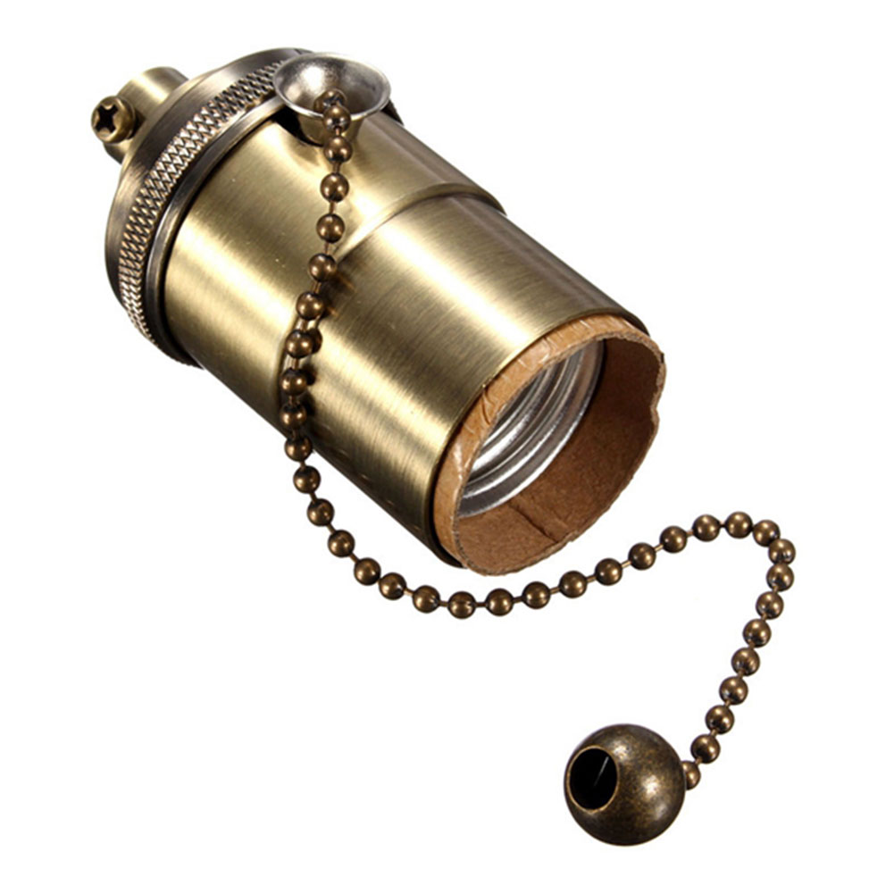 E26/E27 Retro Pendant Lamp Holder Light Socket Screw With