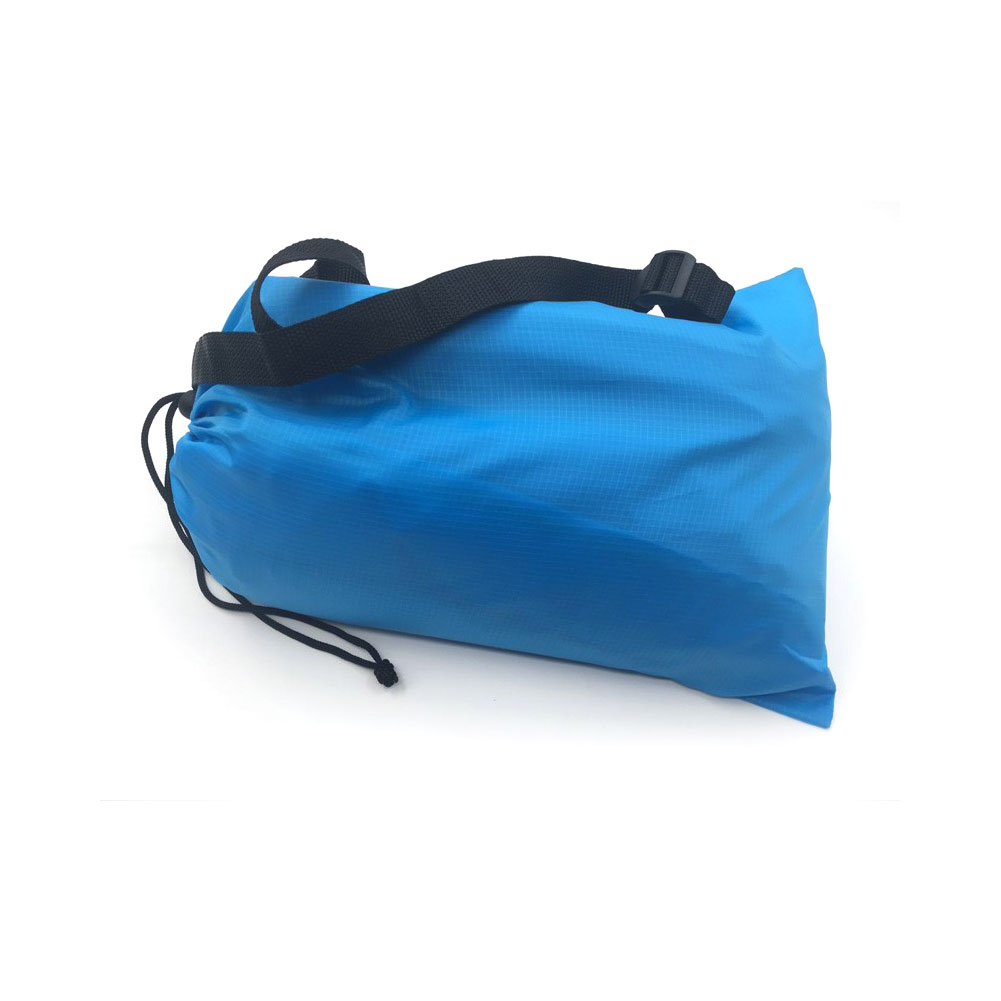 Inflatable Hangout Lounge Chair Air Sofa Bag Outdoor Camping Sleeping Bed