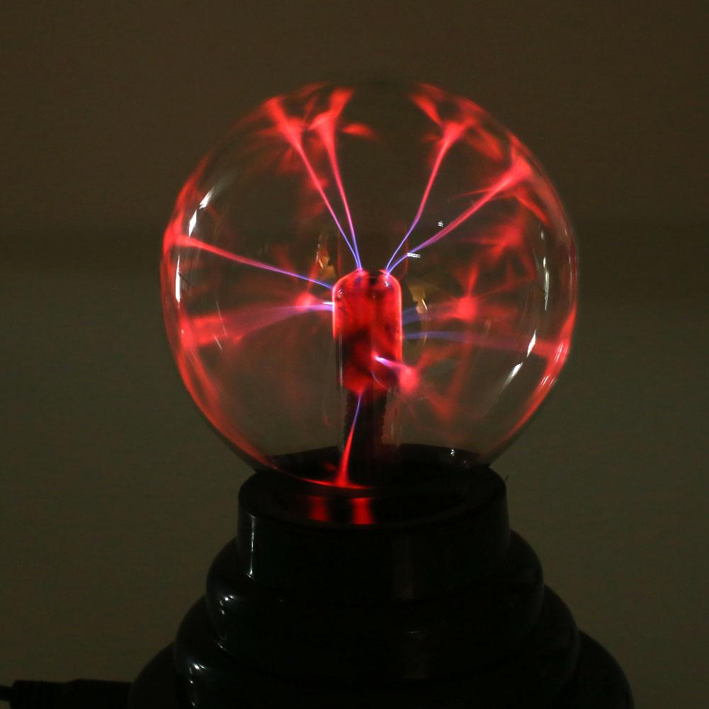 3'' Magic USB Plasma Ball Light Sphere Lamp Gift Static ...