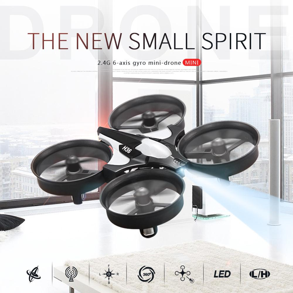 JJRC-H36-2-4Ghz-4CH-Drone-6-Axis-GYRO-RC-Quadcopter-Headless-Mode-One-Key-Return