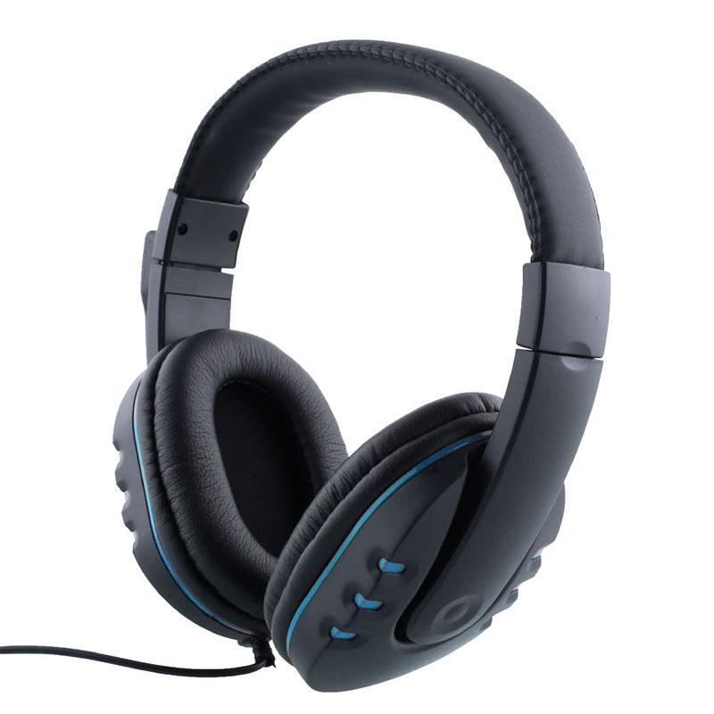 wired gaming headset stereo headphone with mic for pc gamer casque audio ebay. Black Bedroom Furniture Sets. Home Design Ideas