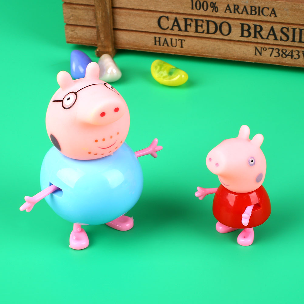 Peppa Pig Kitchen Play Set Daddy Pig Figures For Kids