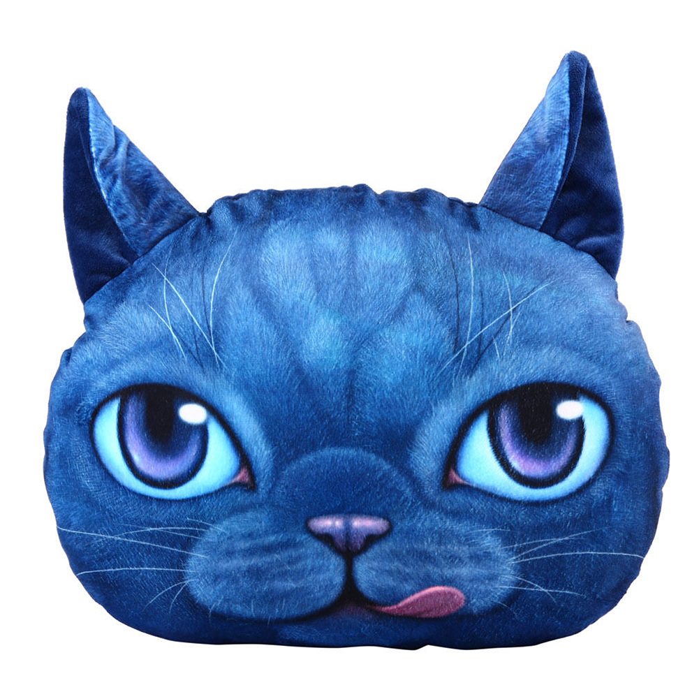 Big Soft Throw Pillows : 3D Cute Soft Plush Big Cat Face Throw Pillow Case Home Decor Cushion Cover Toy eBay
