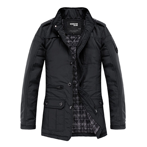 Mens-Jacket-Cloth-Coat-Slim-Clothes-Winter-Warm-Overcoat-Casual-Outwear-Warm